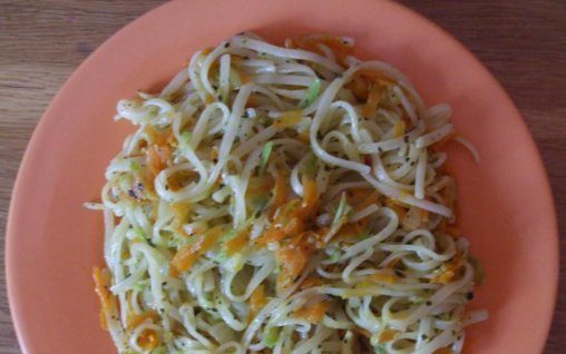 Retete Culinare - Paste de orez cu legume