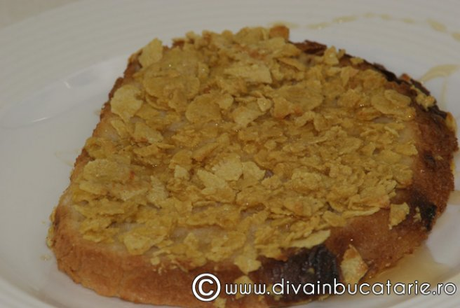 Retete Culinare - French toast crocant