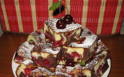 Retete Culinare - Prajitura cu visine