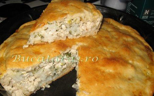 Retete Culinare - Placinta cu pui