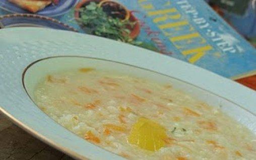 Retete Culinare - Avgolemono - Supa greceasca cu oua si lamaie