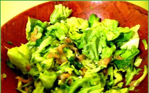 Retete Culinare - Salata de somon cu avocado