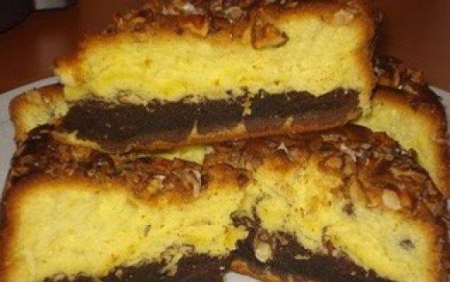 Retete Culinare - Pandispan cu nuca si cacao