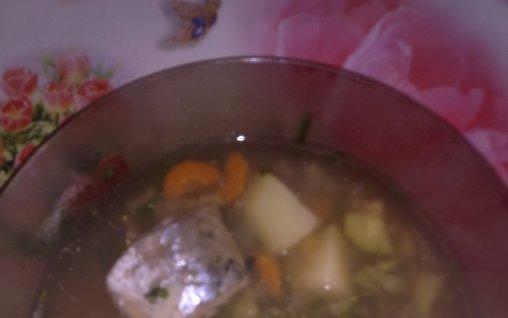 Retete Culinare - Ciorba de peste(macrou)