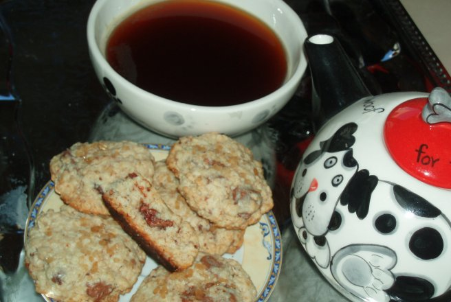 Retete Culinare - Oatmeal Choco- Chips Cookies
