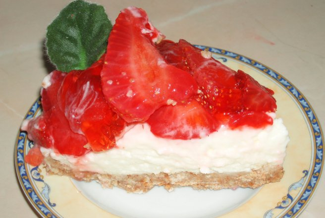 Retete Culinare - Strawberry Cheese Pie