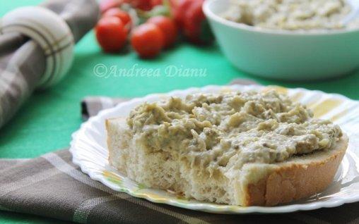 Retete Culinare - Salata de vinete cu maioneza