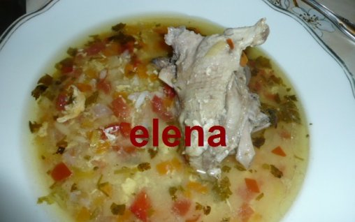 Retete Culinare - Ciorba din maruntaie de gasca