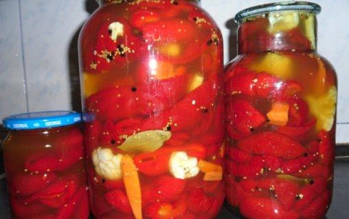 Retete Culinare - Gogosari murati in miere si otet