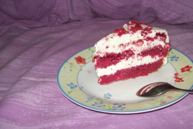 Retete Culinare - Red Velvet Cheesecake