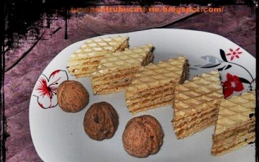 Retete Culinare - Foi de napolitane umplute