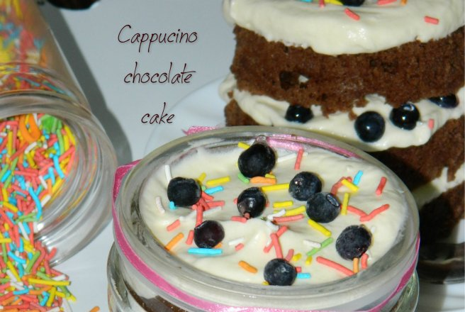 Cappuccino Chocolate Cake