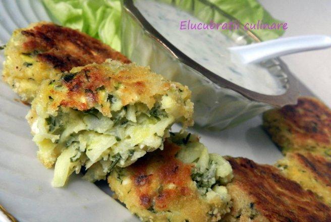 ... Kolokythokeftedes - Chifteluțe de zucchini și feta | Bucataras
