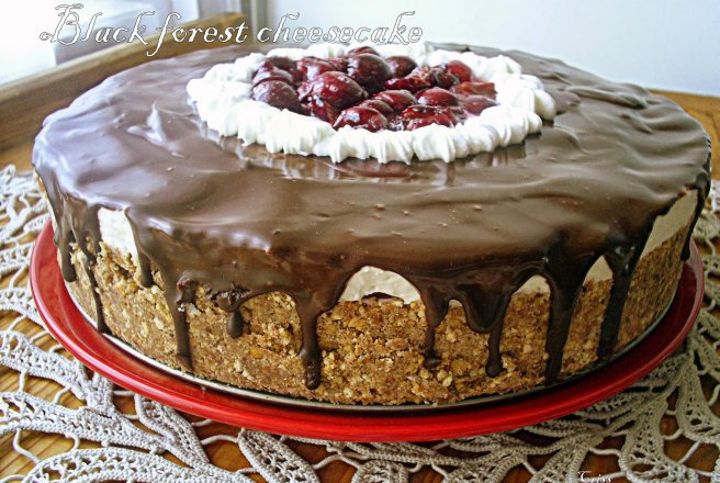 Retete Culinare - Black Forest Cheesecake