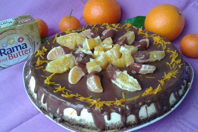 Retete Culinare - Orange Cheesecake