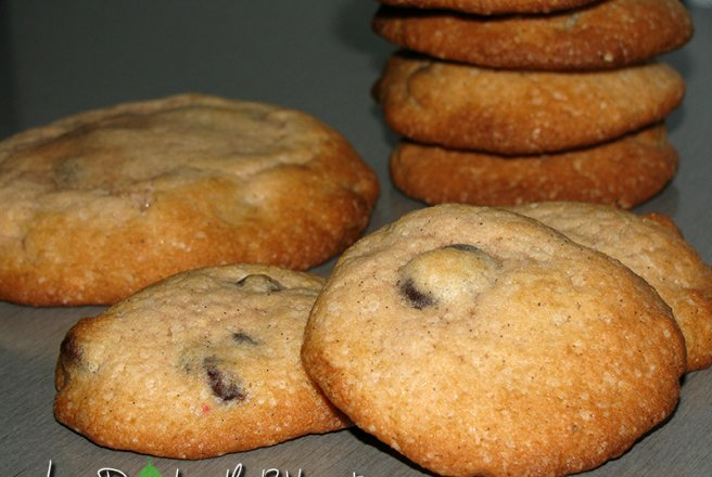 Coffee Chocolate Chips Cookies