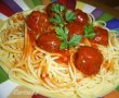 Spaghetti with meatballs-5