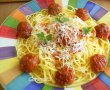 Spaghetti with meatballs-9