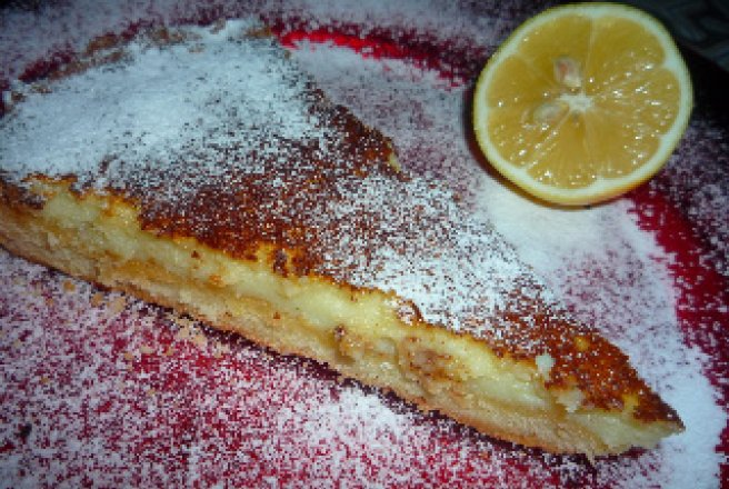 Tarta lemon limoncello