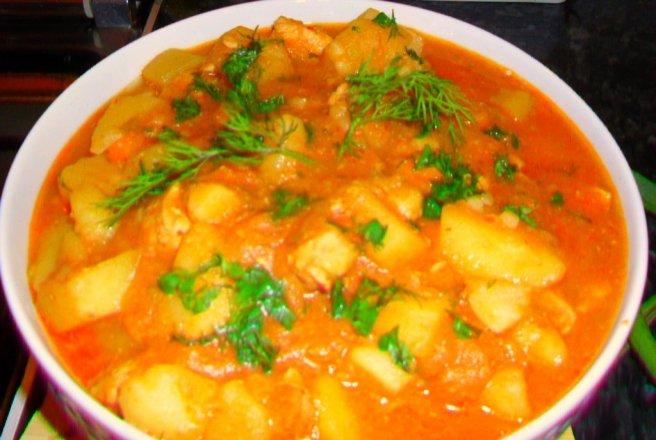 Tocanita de cartofi