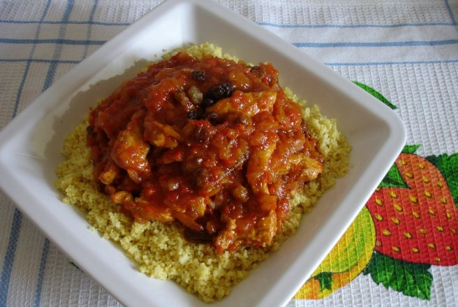 Cous cous in stil indian