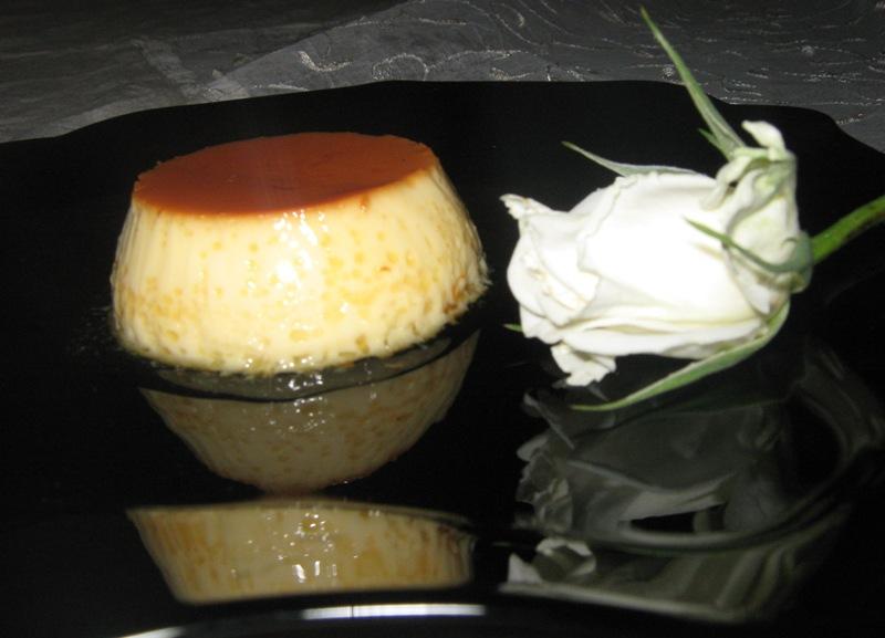 Rose Petal Flan Recipe — Dishmaps