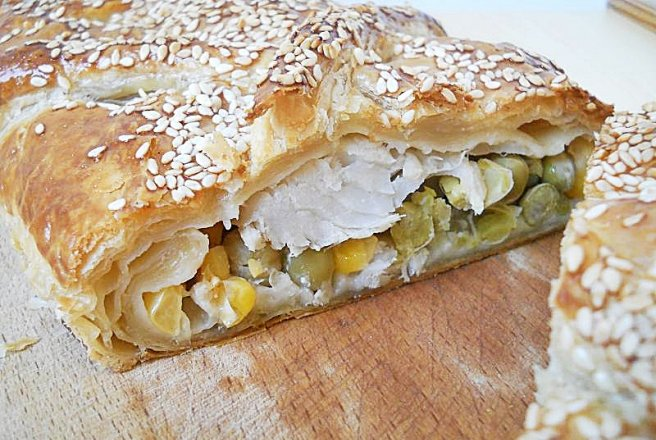 Fish en croute - Peste in crusta