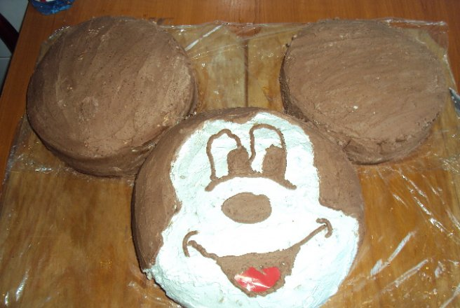 Tort aniversar Mickey Mousse