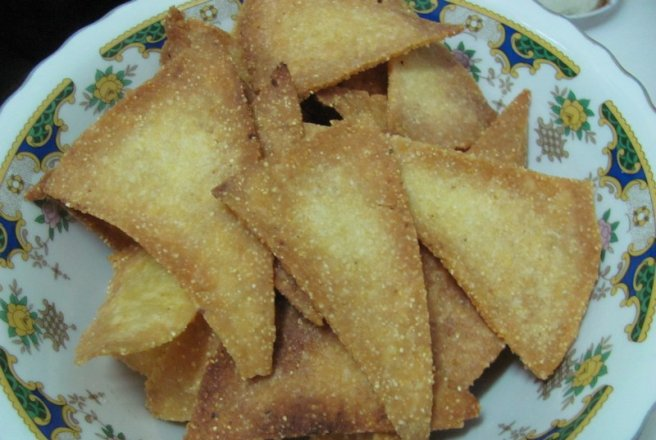 Tortilla Chips (home made)