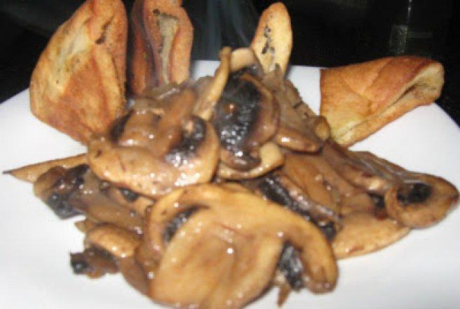 ciuperci prajite
