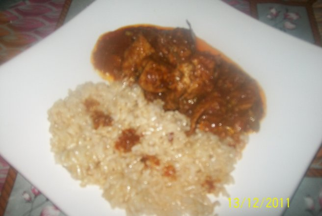 Chicken curry - Curry de pui