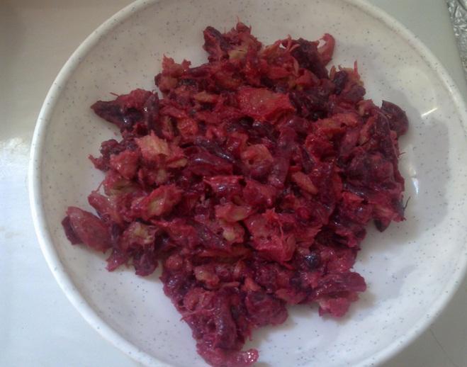 salata de sfecla rosie fiarta