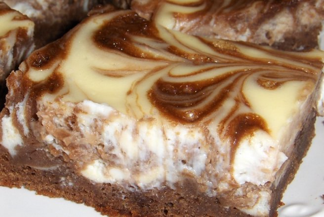 Cheesecake + Brownie = ??