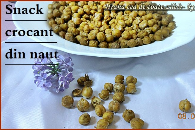 Snack crocant din naut