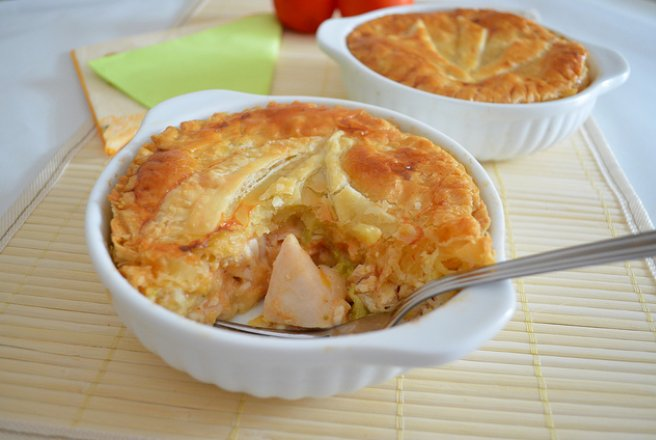 Individual Chicken Pies