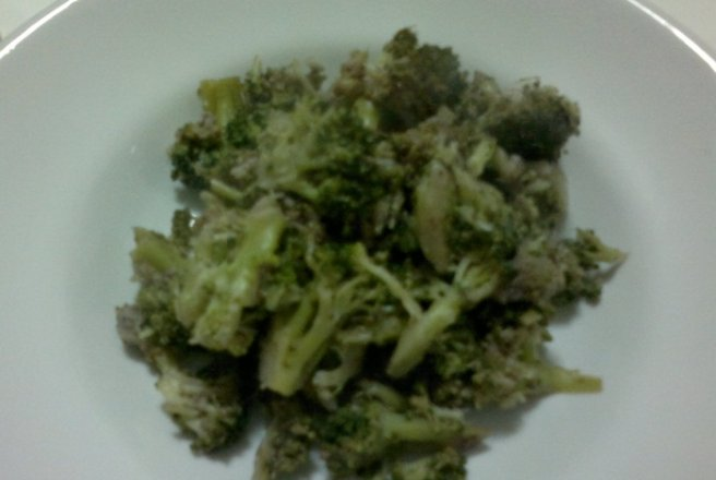 Broccoli in vin rosu