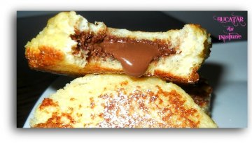 reteta Nutella French Toast Sandwiches