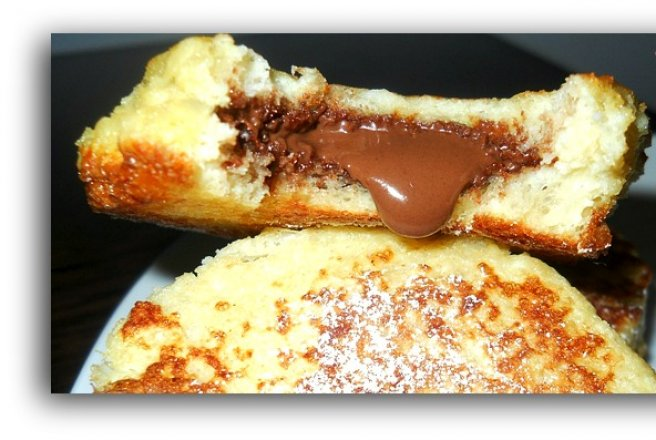 Nutella French Toast Sandwiches