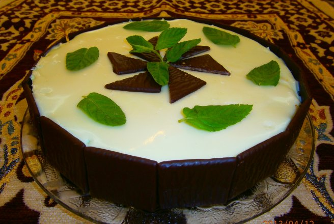 "Cheesecake ""After eight"""