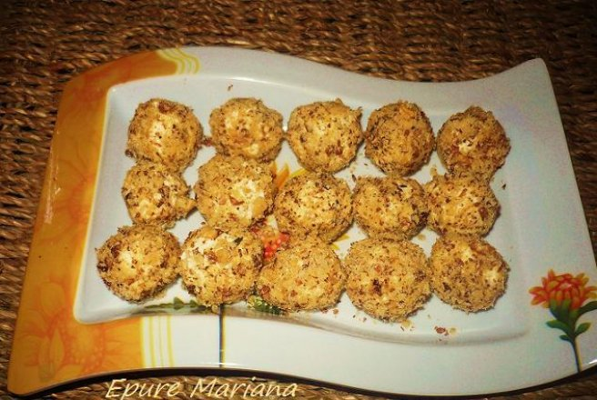 Cheese Balls with nuts