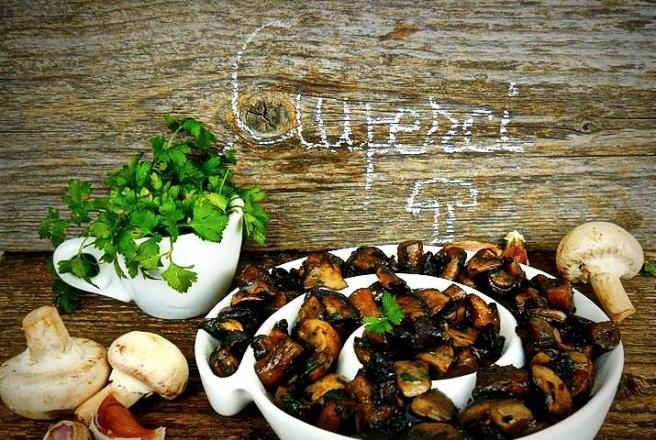 ciuperci fripte