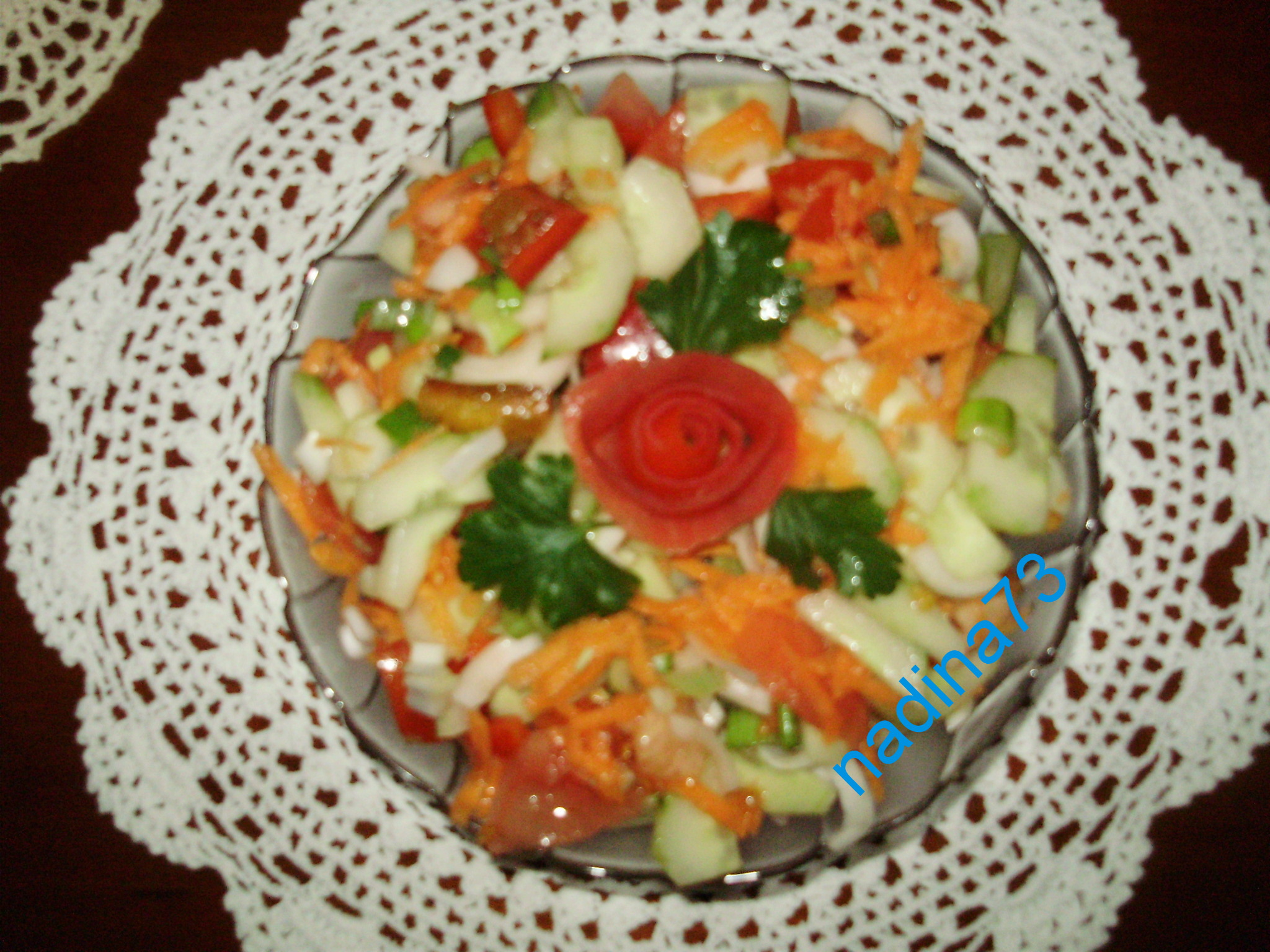 salata telina morcov