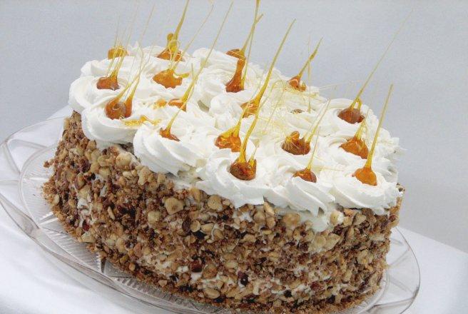 Reteta tort de spuma