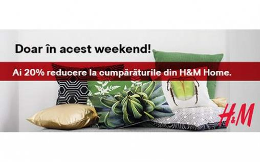 Super-promoție la H&M Home!