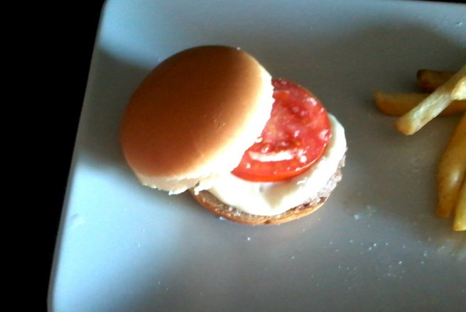 Mini hamburger home-made