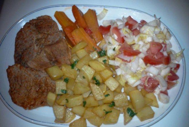 Salata de boeuf garnitura