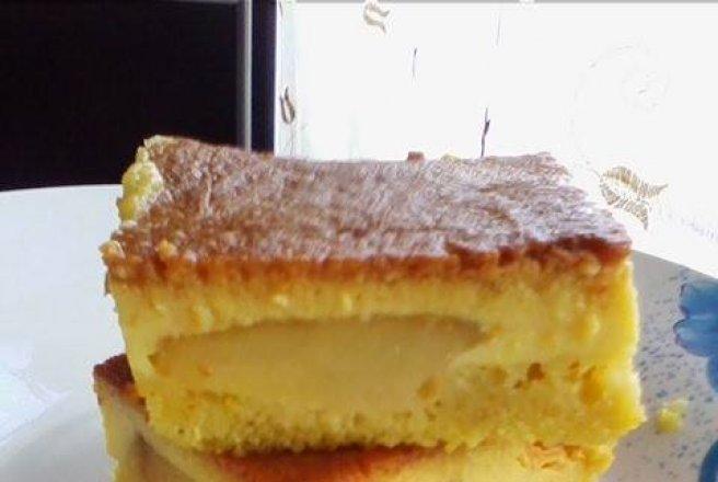 Tort de zahar ars cu mere bucataras