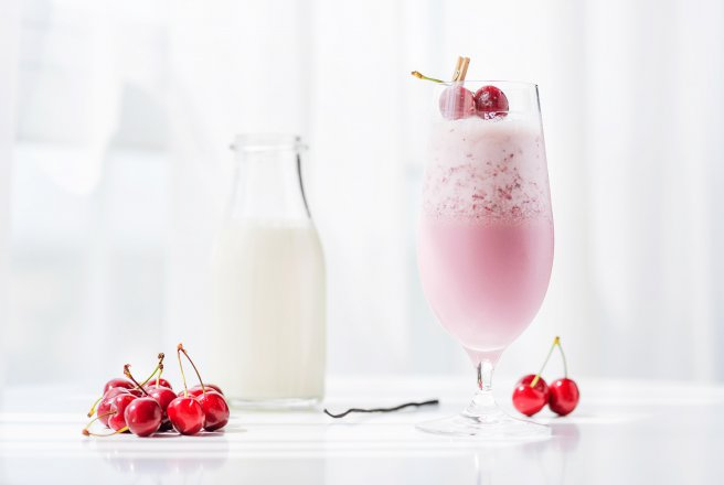 "Cocktail cu Cirese ""Cherry Alexander"""