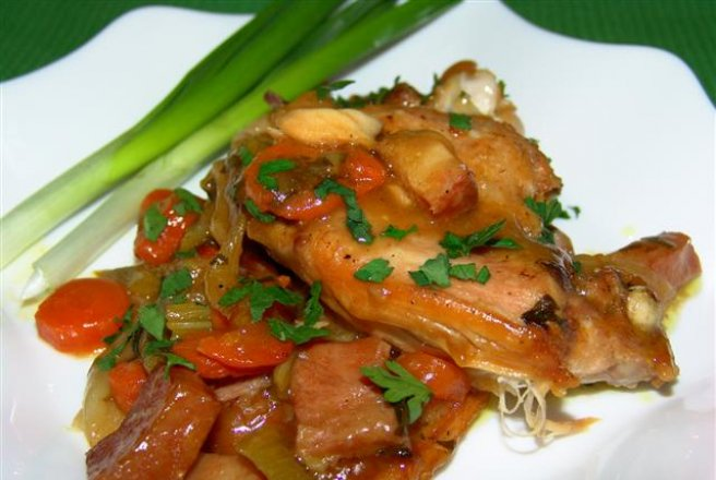 Iepure inabusit - Braised Rabbit