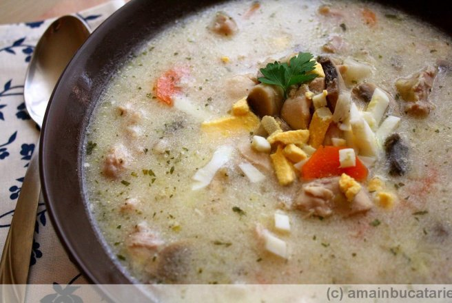 Queen Victoria Soup - Supa traditionala englezeasca
